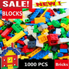 Lego 1000 Pcs Building Blocks City DIY Creative Bricks Set Bulk Model Toy Figure