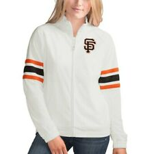 G-III 4Her by Carl Banks San Francisco Giants Women's White Game Score Full-Zip