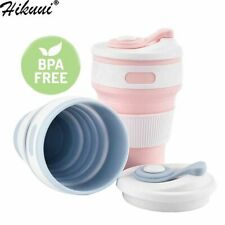 Hot Folding Silicone Cup Portable Telescopic Drinking Collapsible Coffee Cup