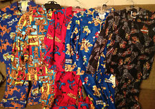 New Boys PJs/Pajamas--Sports/Snowman/Plaid--Sizes 4/6/8