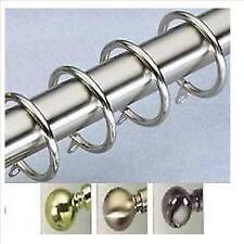 EXTRA Metal RINGS for Trade Packed 29mm Curtain Poles
