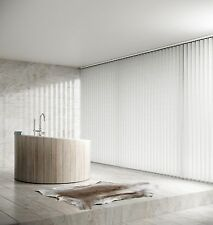 MADE TO MEASURE QUALITY VERTICAL BLINDS / 26 Colours! A1 Fastest Service On Ebay