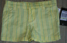 NWT. Hurley Girls shorts, Yellow, Size 4T