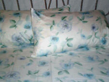 Waterbed Sheets 300TC Cotton-BLUE ROSE King/Queen sizes