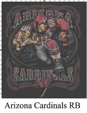 NFL Arizona Cardinals Mascot cross stitch pattern