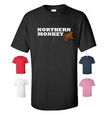 NORTHERN MONKEY FUNNY T-SHIRT MENS WOMENS