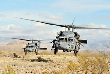 MA33 Military USAF HH-60G Pave Hawk Helicopter Poster Print - A2 A3