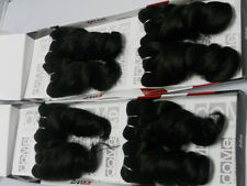 "100% HUMAN HAIR WEAVE 8"" FRENCH TWIST WEAVE TRACK EXTENSIONS- 2PACKS"