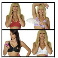 Open Tip Lace Bra Push-up Cleavage Show Nipples B/C Cup 34-44 Plus Sizes 389
