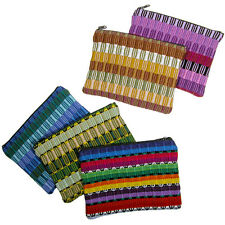 Panel Weave Coin Pouch from Guatemala - Fair Trade