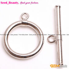 15 mm Toggle White Gold-Plated Jewelry Making Clasps