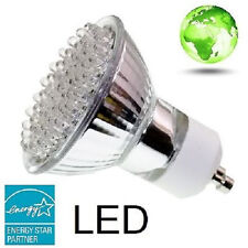 SuperLED Lighting GU10 60 LED 4W 120V Equivalent to 60W Halogen Bulb L.E.D