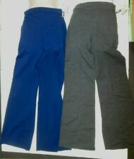 NWT Cotton Spandex Rolldown Waist Jazz Pants Yoga Dance Comfy 2 colors ch/adult