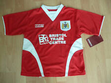 SIGNED BRISTOL CITY HOME/AWAY SHIRT 05 06 ELLIOTT FONTAINE KEOGH McALLISTER BNWT