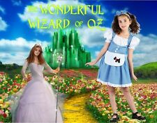 Dorothy Wizard of Oz fancy dress up BNIP 4-11years Book Week Costume Girls Value