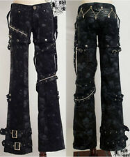 New sexy visual kei PUNK gothic rock removalbe pants S to XXL