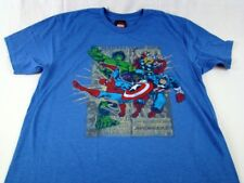 Marvel Comics Super Hero Team Mad Engine Adult Unisex Hulk  T-Shirt Size S M L