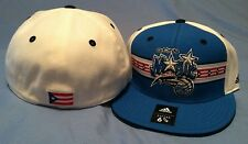 ORLANDO MAGIC PUERTO RICO FLAG FLAT BRIM FITTED TEAM COLORS NBA CAP BY ADIDAS