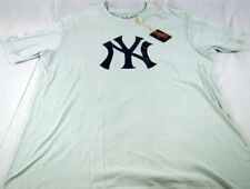 Mens Red Jacket Baseball MLB NY New York Yankees T Shirt Any Size XL 2XL