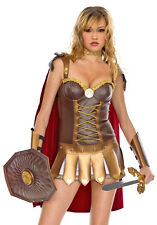 Adult Women's 4 Piece ROMAN WARRIOR Costume! Sizes XS to XL