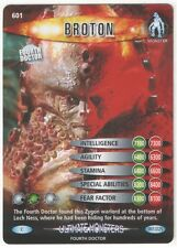Doctor Who Ultimate Monsters Commons Trading Cards Pick From List 601 To 661