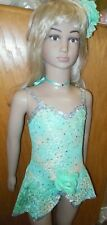 NWT NWT GLITTERED SEQUINED SKIRTED LEOTARD 3 COLORS