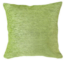 Wb07Ba Plain Light Lime Chenille Cotton Throw Cushion Cover/Pillow Case*Size*