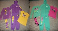 THE CHILDREN'S PLACE TCP 5 PC. GIRLS HOODIE THERMAL TOP PANTS OUTFIT SET SZ 5 6