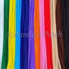 """Chenille Craft Stems Pipe Cleaners 12"""" 30cm 25 50 100 200pk Free 1st Class Post"""