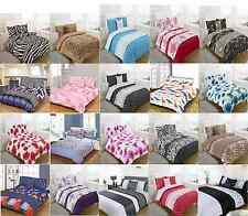 5pc Bed in a Bag Bedding DUVET QUILT COVER SET + CUSHION COVER + BED RUNNER