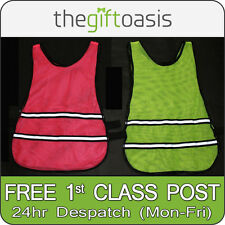 Hi Visibility Running Jogging Cycling Vest Breathable Hi Vis Reflective Safety