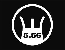 AR 15   M 16 sight decal  5.56