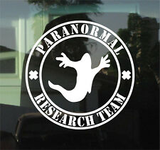 "PARANORMAL RESEARCH TEAM - 8"" DIE CUT VINYL DECAL/STICKER"