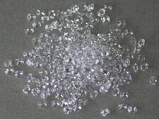 White / Clear AAA Round Brilliant Cut Cubic Zirconia CZ Size Choice