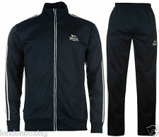 Lonsdale London Boxing Navy & Grey Tracksuit Outfit  Sizes S - 4XL