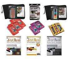 PASTELS SOFT OIL CHARCOAL GREYTONE LANDSCAPE PORTRAIT SETS PACKS & PADS R/Brush