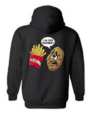 UNISEX PULLOVER HOODIE I Am You Father! FUNNY POTATO AND FIRES S-XL 2X 3X 4X 5X
