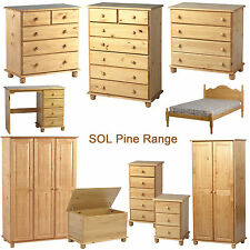 SOL Pine Bedroom Furniture