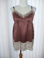 SOUTH, COFFEE LACE CAMI/VEST/NIGHTWEAR/ TOP, BNWT, SIZE 12, ALSO IN OTHER SIZES