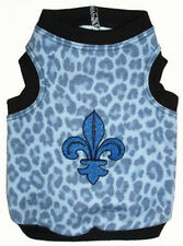 NEW Ruff Ruff Couture Kings Road Blue Dog Tank Shirt- Several sizes