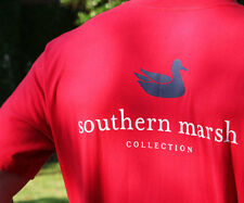 NWT Southern Marsh Authentic Collegiate Pocket Tee T-Shirt Variety of Colors