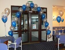 Birthday Balloons - Decoration Kit - All Ages - All Colours - Arch & 10 Tables