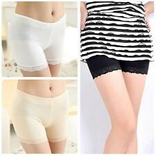 Women's Safety Lace Shorts Leggings Render Pants Tights Bottoms Under Trousers