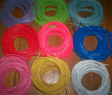 3 METERS OF OUTER BRAKE CABLE, 9 DIFFERENT COLOURS