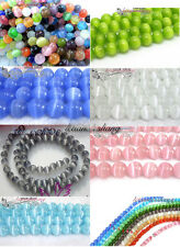 You Pick! Lots of Cat's Eye Round Loose Beads  4/6/8/10mm,7 Set Available #Z219
