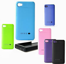 Rechargeable External Backup Battery Charger Case Cover for iphone 4 4g 4S #BJ
