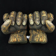 New Set of 2 Incredible Hulk Abomination Smash Hands Plush Boxing Gloves Costume