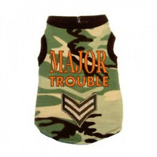 NEW Hip Doggie Major Trouble Camouflage Dog Tank Shirt - Several sizes