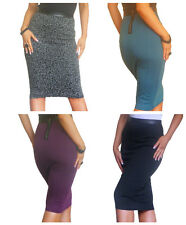 New Skirt Ladies Womens Bodycon Pencil Midi Stretch Party Size 4 6 8 10 12