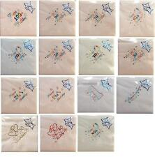 LUXURY QUALITY 15 PACK PARTY BIRTHDAY ANNIVERSARY NAPKINS SERVIETTES 3PLY NEW